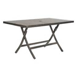 Foldable Patio Table Dilettie Rectangle Folding Patio Dining Table Patio Dining Tables At Hayneedle