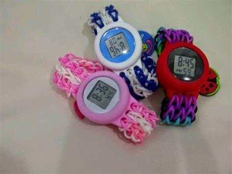 membuat gelang jam cara membuat gelang karet untuk jam tangan rainbow youtube