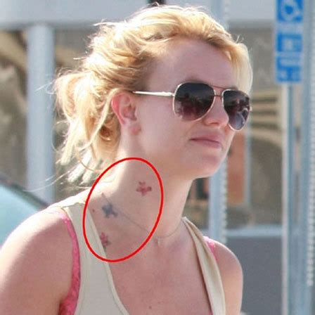 britney spears tattoos top 10 designs to flaunt
