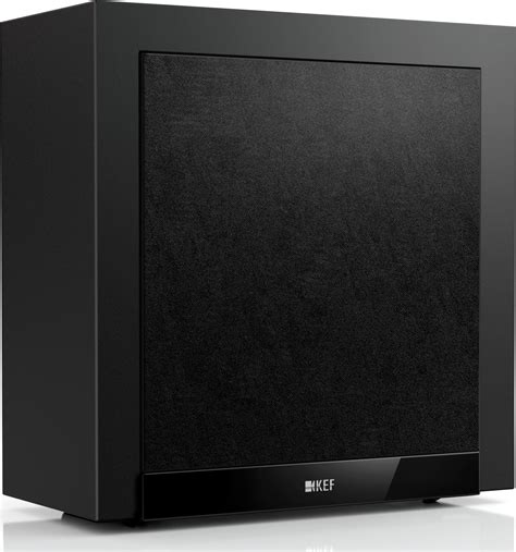 kef t305 5 1 channel home theater speaker system black