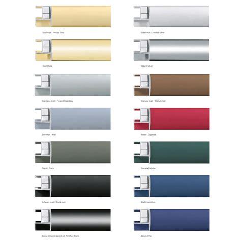 cornice in alluminio nielsen cornice in alluminio profilo 62 tuttocornici it