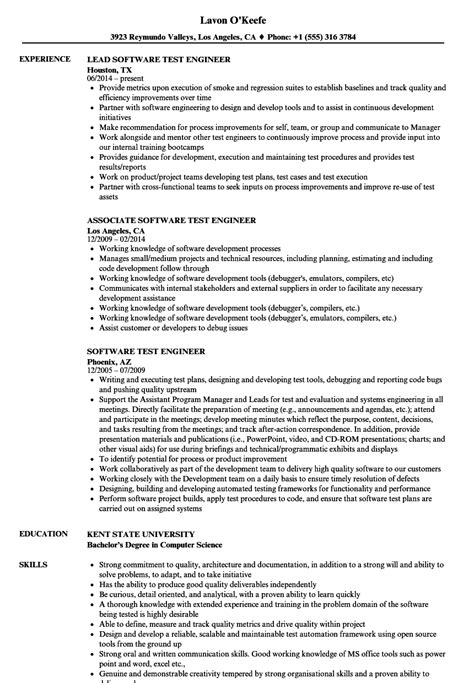 quality assurance engineer resume samples visualcv resume samples