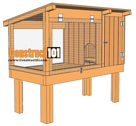 Free Woodworking Plans For Rabbit Hutches