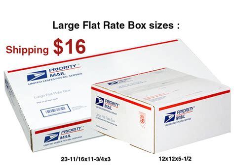 Post Office Box Rates by Usps Flat Rate Box