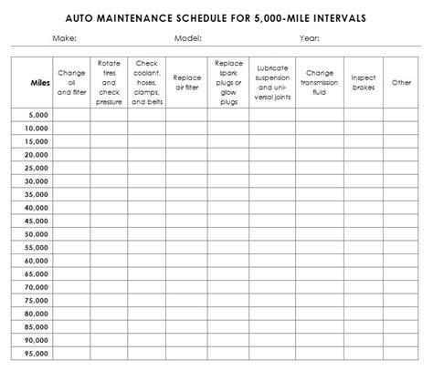 Mechanic Schedule Template 9 Best Automotive Images On Pinterest Auto Maintenance Car Brake Repair And Car Repair