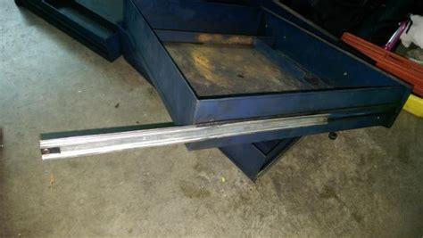 craftsman tool box drawer slides old craftsman tool chest drawer slides replacement
