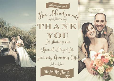 free wedding thank you card template with photo 19 photography thank you cards free printable psd eps