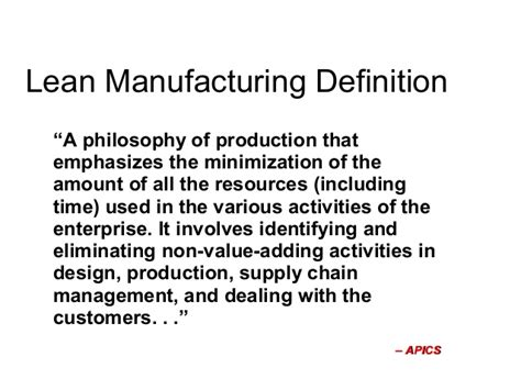 lean layout definition lean manufacturing system lms 19 march sgd