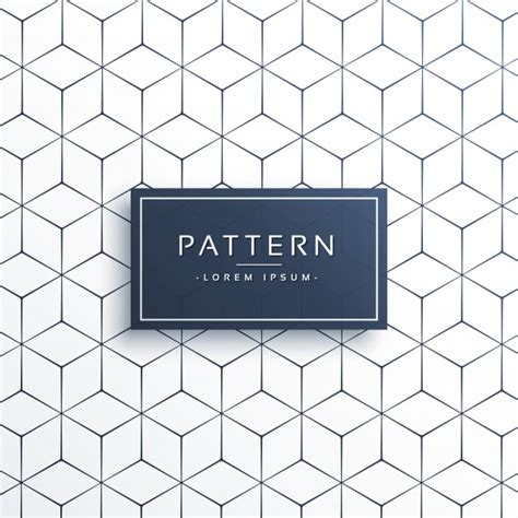 vector line pattern tutorial background of lines and hexagons vector free download