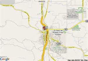 map of paso robles travelodge paso robles