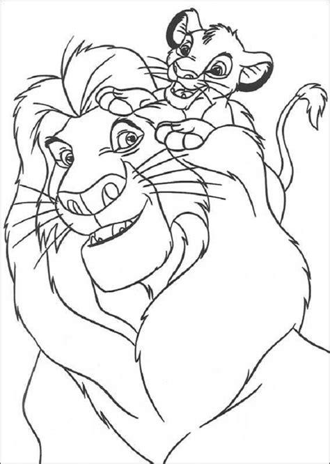 dibujos para colorear de leones actividades infantiles y dibujos colorear rey leon ideas creativas sobre colorear