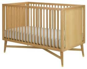 White Modern Baby Crib Dwellstudio Mid Century Crib Modern Cribs Portland