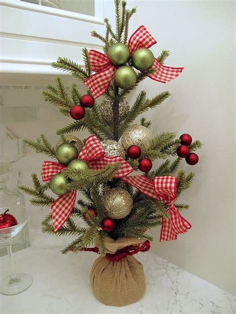 best 25 tabletop christmas tree ideas on pinterest