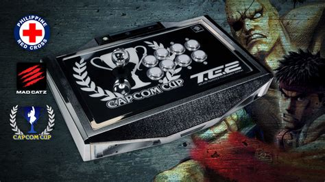mad catz te2 template mad catz and capcom team up for philippine relief
