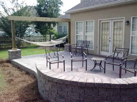 cost of paving backyard cost for paver patio home design ideas and inspiration