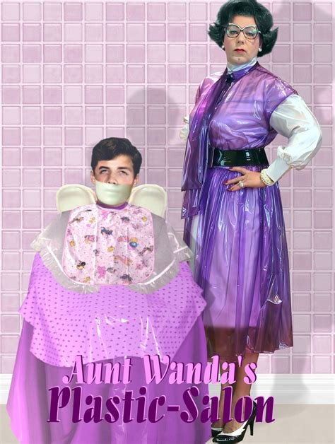 aunt haircut story aunt wanda s plastic salon plastic fantastic pinterest