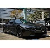 Black On BMW I8 By Prodrive  Motorward