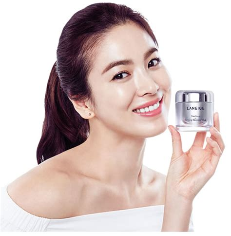 Laneige Mini Time Freeze Firming Sleeping Mask 10 Ml try this korean sleeping mask and roller combo for