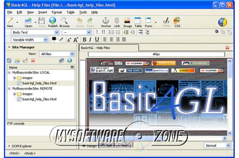 html css layout software website design css html editor edit web page pro