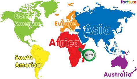 world map of kenya image gallery kenya on world map
