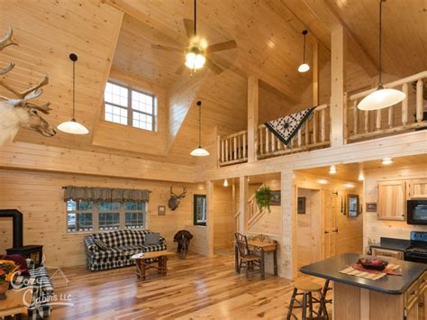 Interior Homes Photos by Log Cabin Interior Ideas Home Floor Plans Designed In Pa