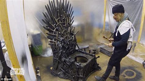 game of thrones toilet john giovanazzi installs game of thrones toilet in