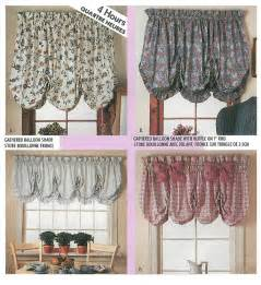 Pattern For Valance Balloon Valance Shade Sewing Pattern Curtain Window