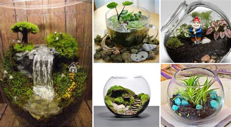 Easy Christmas Decorating Ideas Home by 25 Adorable Miniature Terrarium Ideas For You To Try