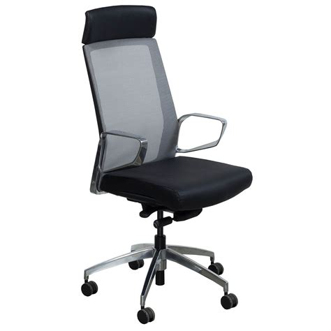 grey leather conference chairs maris by gosit mesh high back conference chair with
