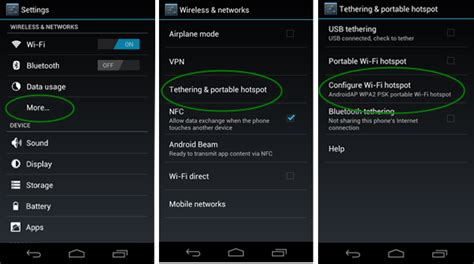 how to set up hotspot on android tethering wifi at an marketing event cesar ramirez