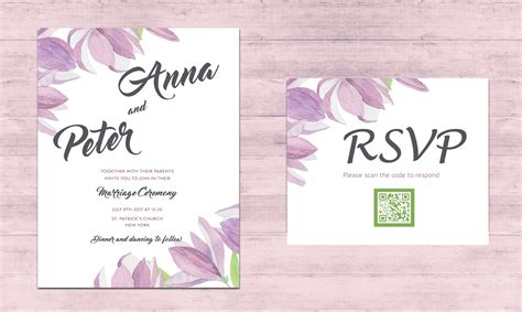Wedding Invitation Qr Code by 10 Ways To Add Tech To Your Wedding The Pink
