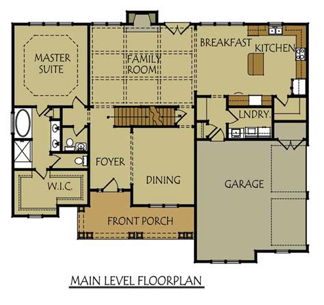 river house floor plans 2 story 3 bedroom river house plan with 2 car garage by