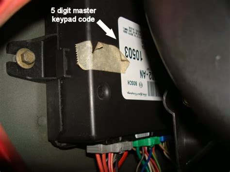 how to reset keypad on ford expedition 2003 expedition master keypad code page 2 ford truck