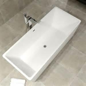 baignoire ilot rectangulaire 175 cm acrylique saria