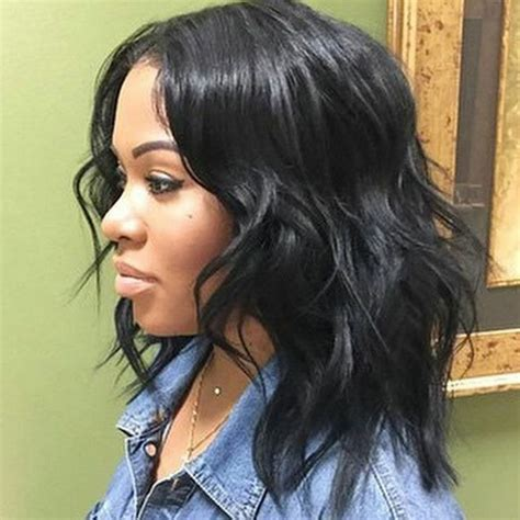 how to layer curly shoulder length hair african american best 25 medium length weave ideas on pinterest medium