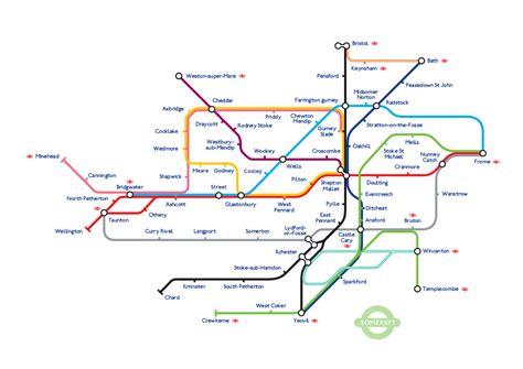map of underground in somerset underground map