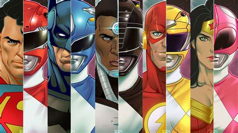 justice league power rangers jla justice league of america i m looking forward to the power rangers more than