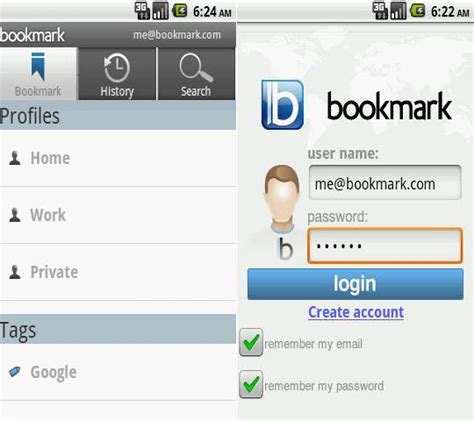 bookmarks android edit bookmarks android phone