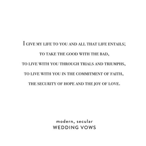 Wedding Vows Modern by Best 25 Modern Wedding Vows Ideas On Wedding
