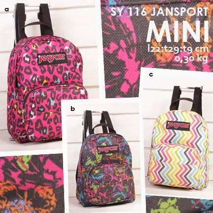 Tas Jansport Mini Zalora jual tas ransel cantik jansport mini motif terbaru sy 116