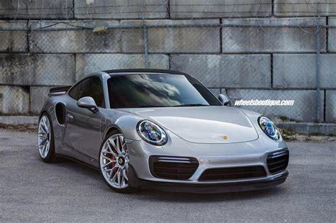 Porsche Silber by Porsche 911 991 Turbo Auf Hre P200 Felgen In Silber