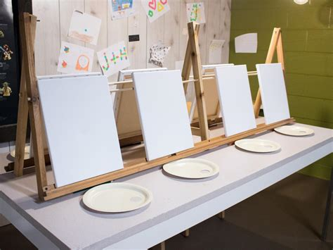 paint nite easels birthday ideas for diy network made