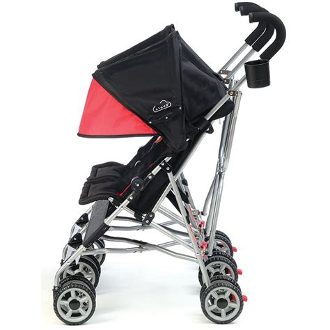 reclining double umbrella stroller com kolcraft cloud side by side double umbrella