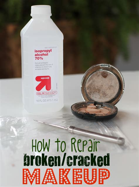 how to fix a cracked diy how to repair broken and cracked makeup mommysavers