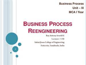 Business Process Engineer by Study Exles Business Process Reengineering