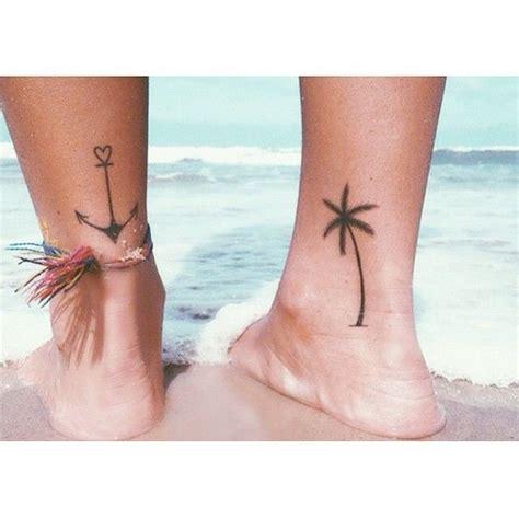 minimalist tattoo austin holiday minimalist tattoo idea palm tree and and anchor