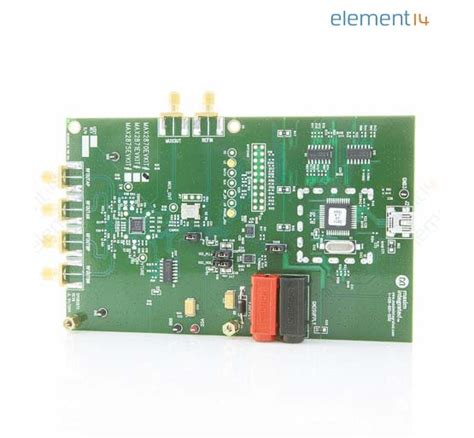 maxim vco integrated circuit max2870evkit maxim integrated products eval board pll vco farnell uk