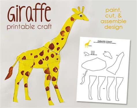 giraffe paper plate craft giraffe template new calendar template site