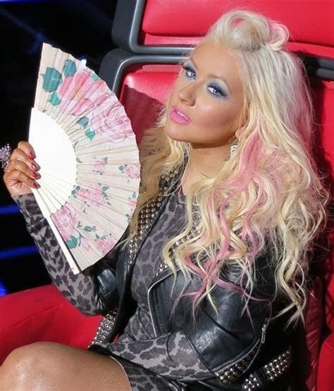christina aguilera hairstyles     hairstyle