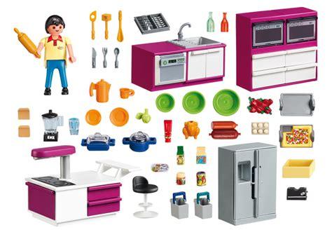 playmobile cuisine cuisine avec 238 lot 5582 playmobil 174